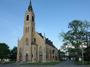 St. Michael's Catholic Church in Weimar, Texas