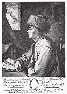 Rousseau in armenischer Tracht (Quelle: Wikimedia)