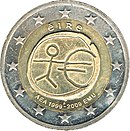2 Euro Ireland 2009 Monetary Union.jpg