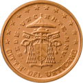 2 cents Vatican 2nd series