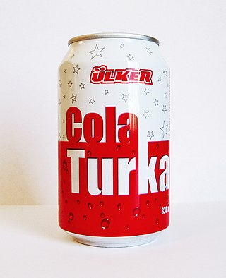 Cola Turka 330-ml-Dose, altes Design