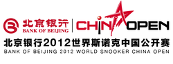 Bank of Beijing China Open 2012