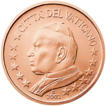 1 cent Vatican 1st series