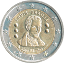 € 2 commemorative coin Belgium 2009.png