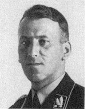 Ernst kaltenbrunner hier als ss brigadeführer 1938 oder früher