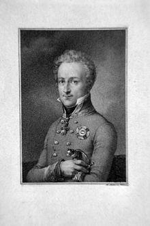 Johann I. Josef von Liechtenstein, Kupferstich von Franz Xaver Stöber (Quelle: Wikimedia)