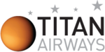 Logo der Titan Airways