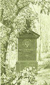Das Grab von Franz X. Wolfgang Mozart in Karlsbad (Quelle: Wikimedia)