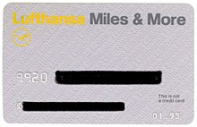 Lufthansa Miles And More Karte.Miles More Wikipedia