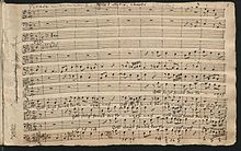 Wiederentdeckung Kantate Gott steigt herab, Staatsbibliothek zu Berlin (Quelle: Wikimedia)