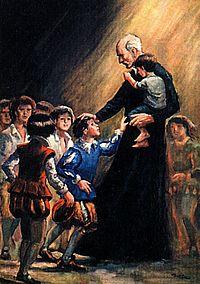 Св. Иосиф Калазанский (José de Calasanz)