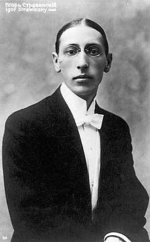 Igor Strawinsky im Alter von 18 Jahren (Quelle: Wikimedia)