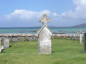 Cemetery on South Uist