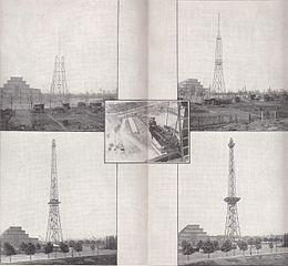 Bauphasen Funkturm [Public domain], via Wikimedia Commons