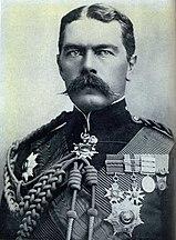 Lord Herbert Kitchener, britisk stabssjef i Boer-krigen fra 1900