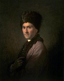 Rousseau in England, Porträt von Allan Ramsay, 1766 (Quelle: Wikimedia)