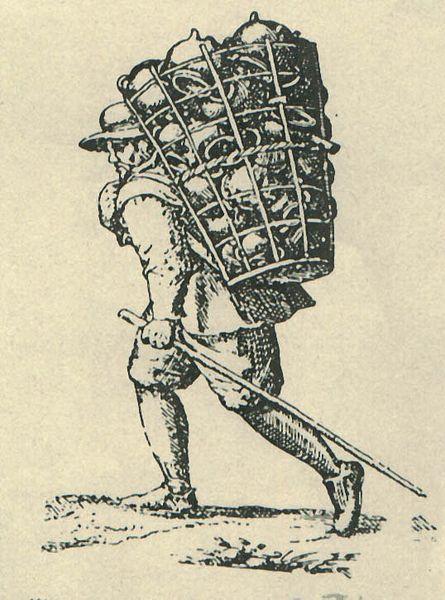 Datei:Westerwälder Geschirrhändler, 17. Jh.jpg