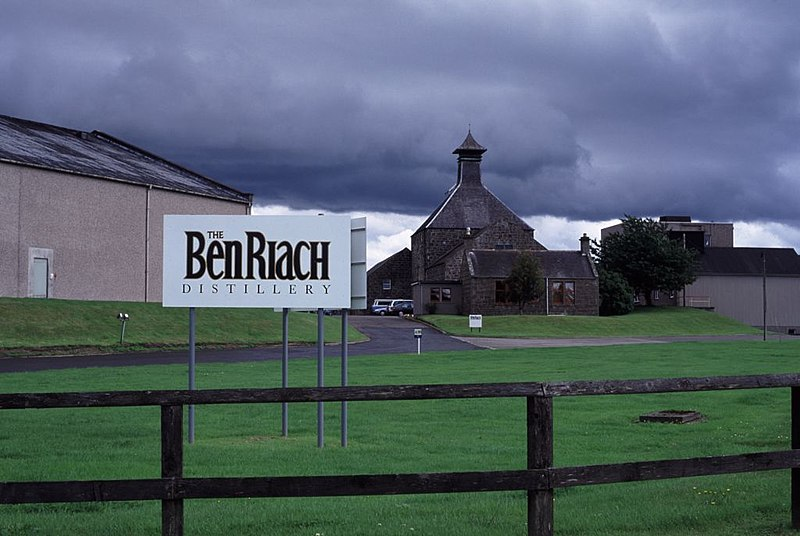 BenRiach Destillerie