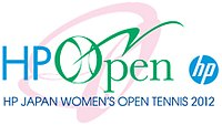 "Logo des Turniers ""HP Japan Women's Open Tennis 2012"""