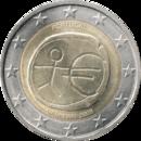 € 2 commemorative coin Portugal 2009 EMU.png