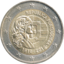 € 2 commemorative coin Portugal 2010.png