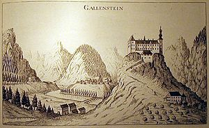 Burg Gallenstein (1681)