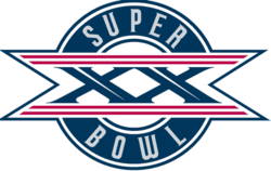 Logo des Super Bowl XX