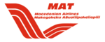 Das Logo der Macedonian Airlines