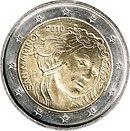 2 Euro commemorative coin 2010 San Marino.jpg