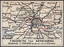 Königsberg Kaliningrad Karte.Königsberg Preußen Wikipedia