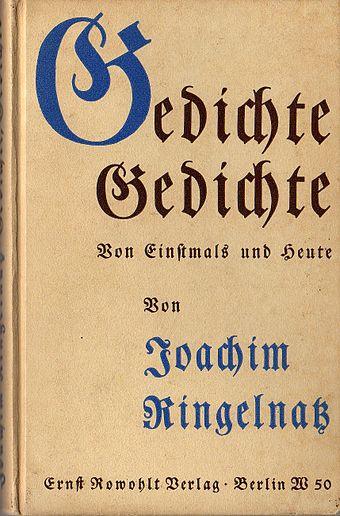 Joachim Ringelnatz Wikiwand