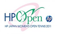 "Logo des Turniers ""HP Japan Women's Open Tennis 2011"""