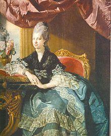 Herzogin (Sophie) Charlotte zu Mecklenburg, spätere Königin von Großbritannien und Irland (Quelle: Wikimedia)