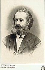 Alexander Ritter, Ende der 1870er Jahre (Quelle: Wikimedia)