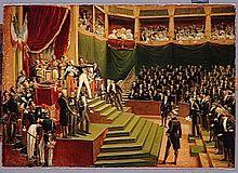 Louis-Philippe I., König der Franzosen, schwört den Eid auf die neue Verfassung (Quelle: Wikimedia)