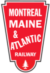 Logo der Montreal, Maine and Atlantic Railway