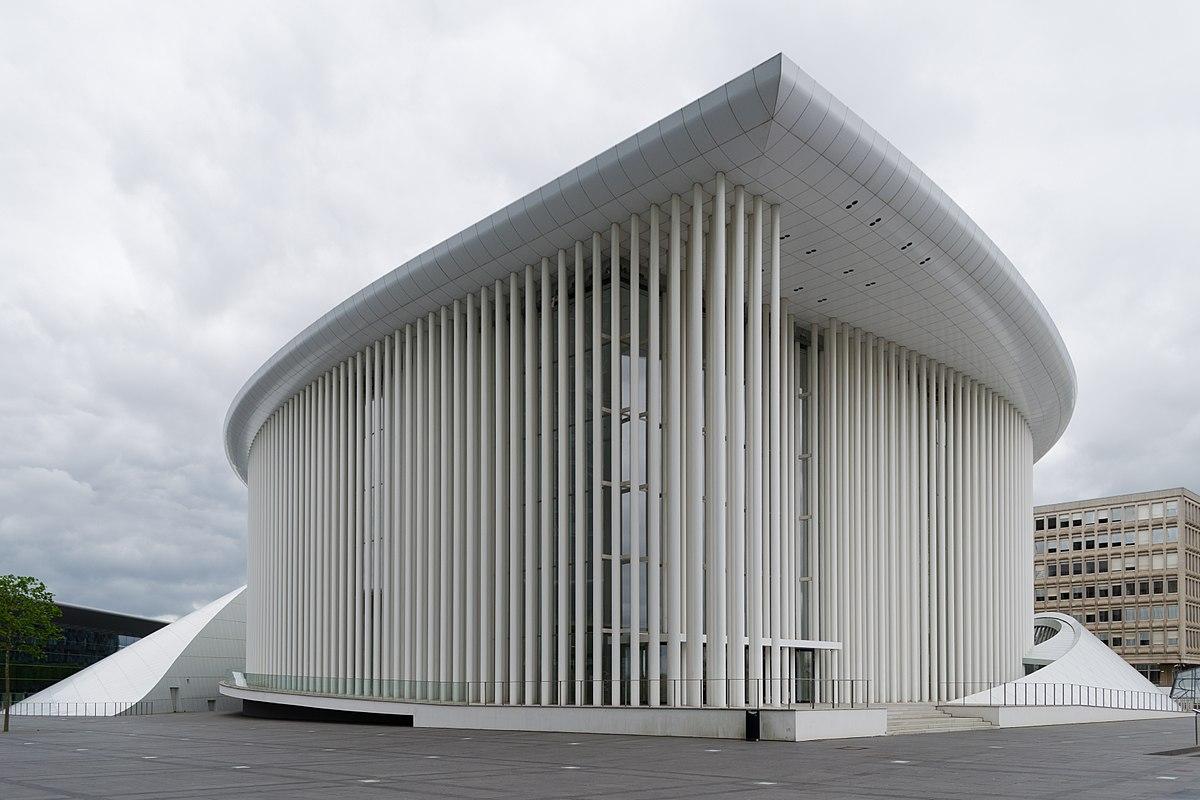 Architekten Luxemburg philharmonie luxembourg