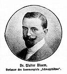 Walter Bloem -  Bild