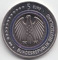 5 Euro coin Germany 2016 Planet Earth Wertseite.jpg
