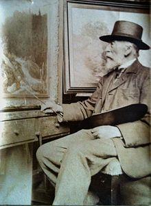 约翰戈特弗里德斯特芬德国画家Johann Gottfried Steffan (German, 1815–1905) - 文铮 - 柳州文铮