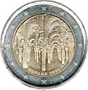 2 Euro commemorative coin 2010 Spain.jpg