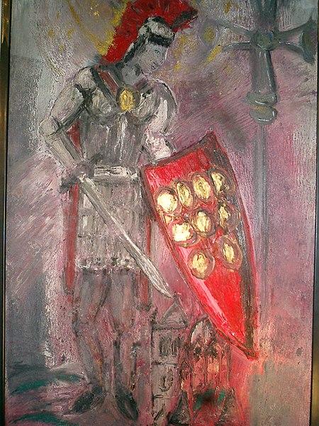Den hellige Quirinus av Neuss, bilde av Helmut Wessels, Neuss