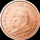 5 cents Vatican 1st series