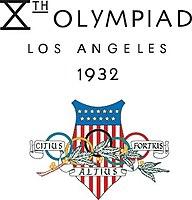 Logo der Olympischen Sommerspiele 1932
