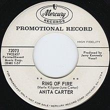 Anita Cash Ring Of Fire