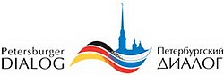 Das Logo des Petersburger Dialogs