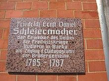 Gedenktafel in Barby (Elbe) (Quelle: Wikimedia)