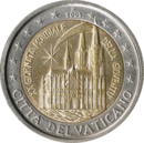 €2 commemorative coin Vatican City 2005.png