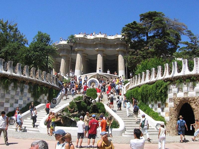 Parc Güell. Barcelona, España