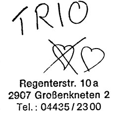 Trio 1981, Album Cover